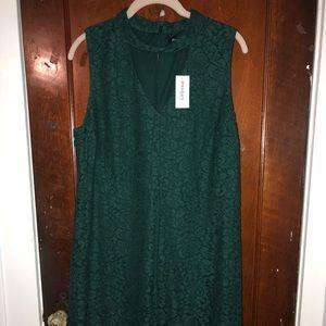 Green Lace Dressbarn Dress.